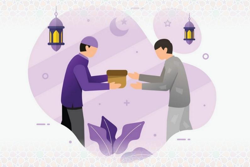 Don pour Sadaqa, repas de rupture de jeûne et Zakat el-Fitr